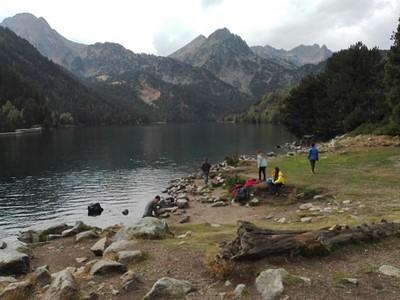 Sant Maurici Lake